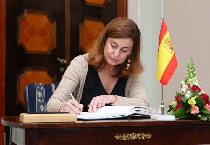 Hispaania suursaadik Eestis Teresa Orjales Vidal. Foto: Hispaania saatkond Tallinnas