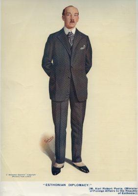 Pusta välisministrina 1925. aastal. Foto: Whitehall Gazette 1925, välisministeeriumi arhiiv